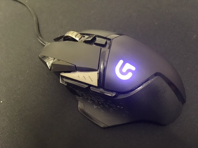 A picture of my Logitech G502 mouse