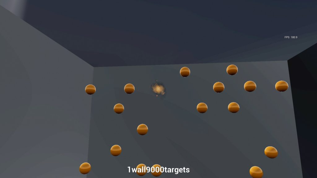 Kovaak's FPS Aim Trainer 1wall9000targets