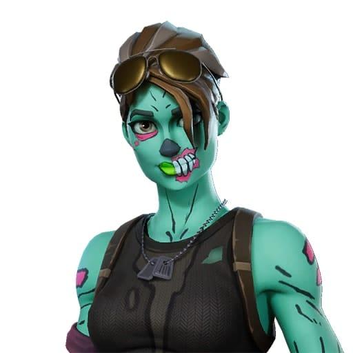 Ghoul Trooper Fortnite Skin