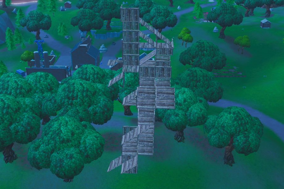 Fortnite building for high ground