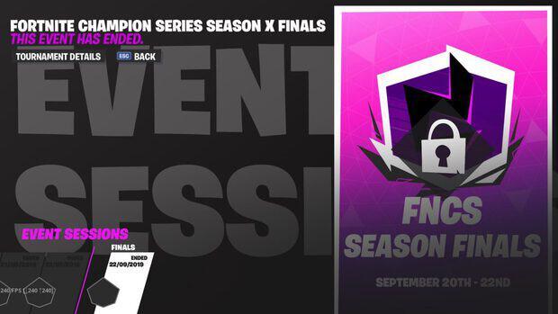 FNCS season finals event sessions