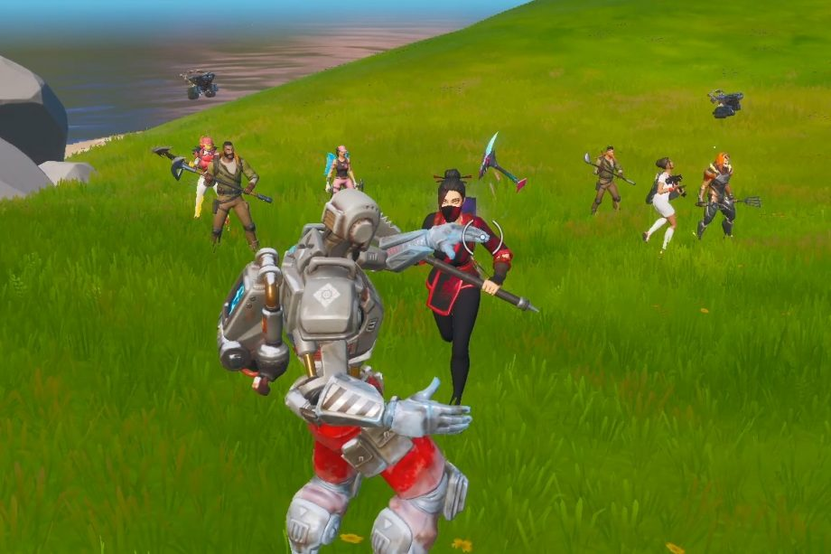 Fortnite Dying In Stupid Ways Does Fortnite Really Have Bots Kr4m