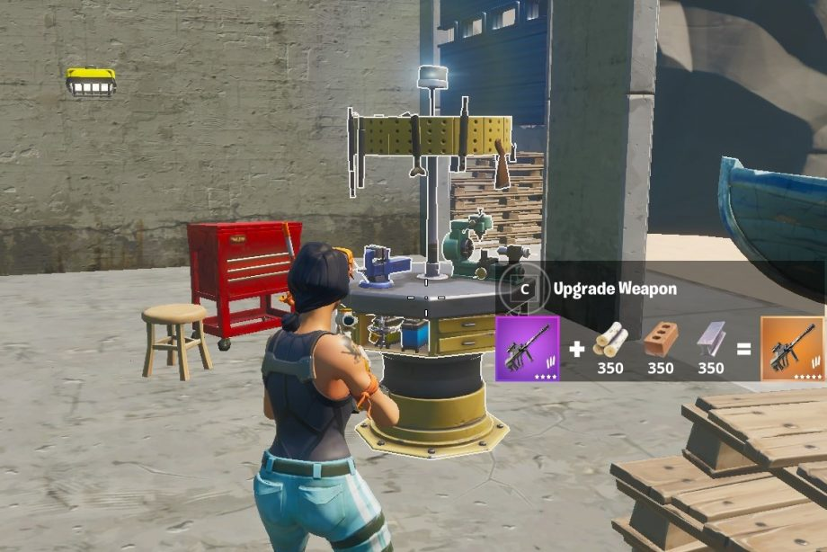 How To Upgrade Your Weapons In Fortnite Chapter 2 Kr4m