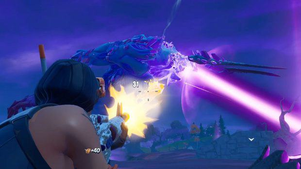 Storm King beam attack