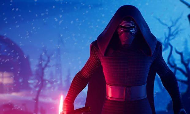 Kylo Ren from Star Wars in Fortnite
