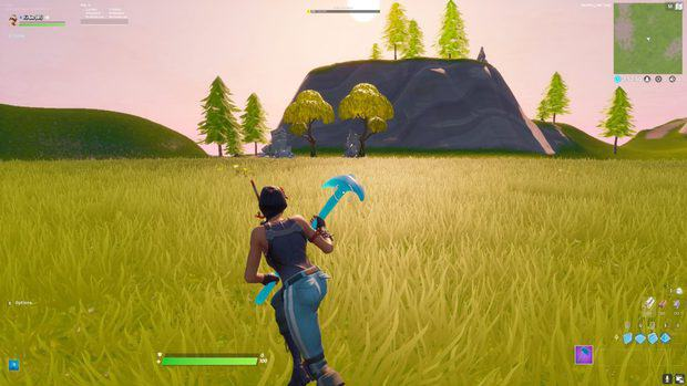 Running diagonally using double movement keybinds in Fortnite