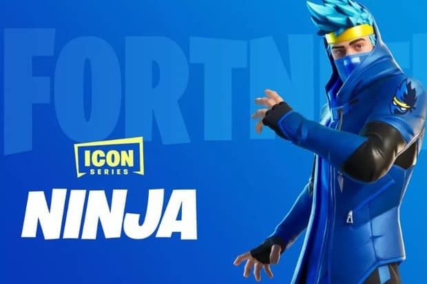 Ninja's skin featured in the icon series