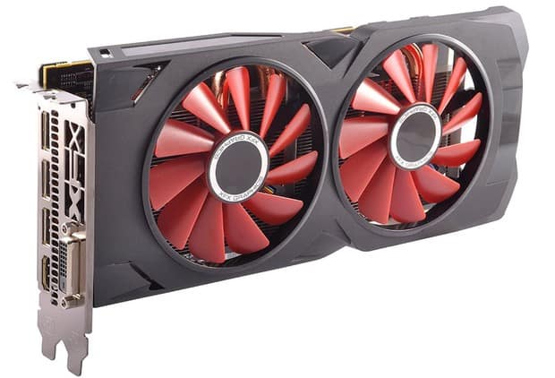 AMD Radeon RX 570 graphics card