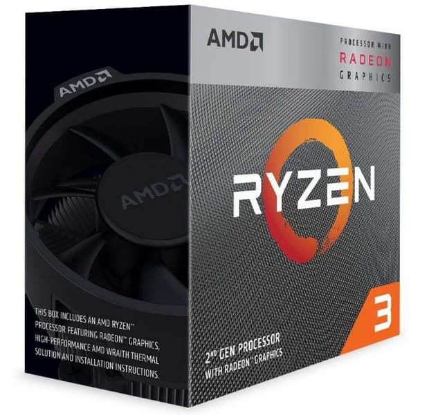 AMD Ryzen 3 3200G CPU