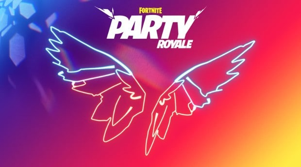 Fortnite Neon Wings Back Bling for Party Royale