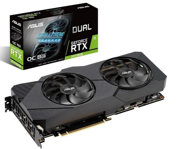 Nvidia GeForce RTX 2070 Super graphics card