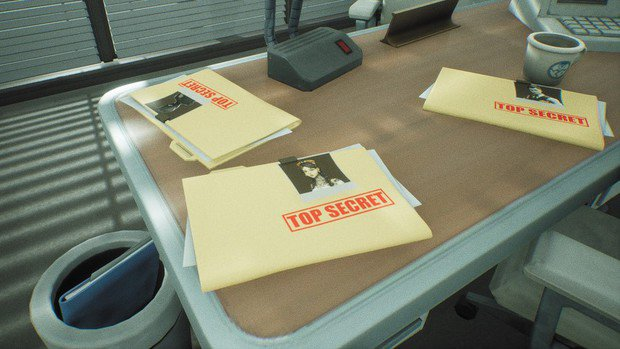 Top secret folders of Midas, the Engineer, and Lynx found on the desk in the office of the device event