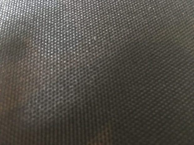 Close up photo of the MP510 to see the Cordura fabric