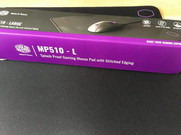 Cooler Master MP510 mouse pad with box