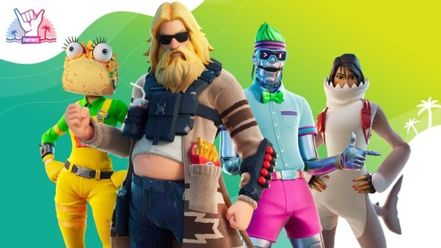 Fortnite Summer Splash 2020 outfits