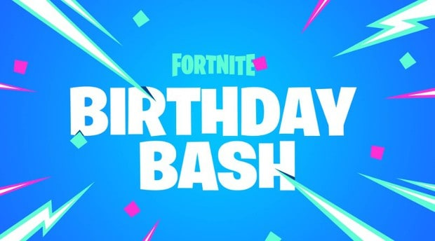 Fortnite 3rd Birthday Bash